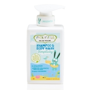 Simplicity Shampoo & Body Wash, Natural Bath Time 300ML