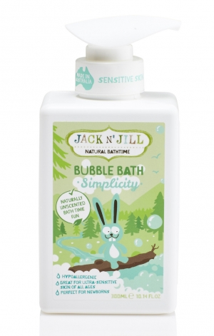 Simplicity Bubble Bath, Natural Bath Time 300ML