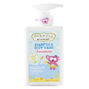 Sweetness Shampoo & Body Wash, Natural Bath Time 300ML