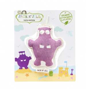 Jack N' Jill Tooth Keeper Hippo